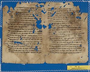 T-S F9.41 recto, commentary to Babylonian Talmud