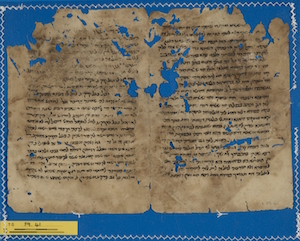 T-S F9.41 verso, commentary to Babylonian Talmudi